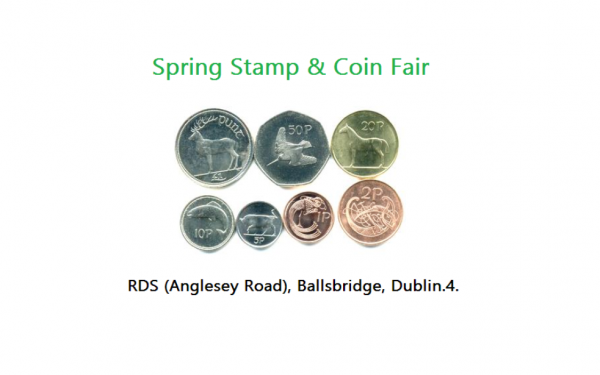 The Spring Stamp and Coin Fair 2017